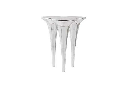Marley Bar Table Silver Leaf