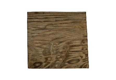 Cast Petrified Wood Side Table