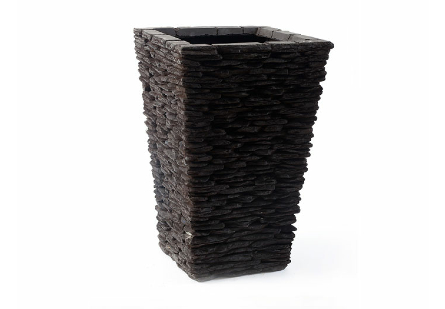 Stacked Stone Planter