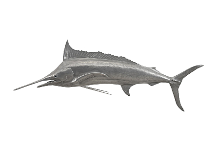 Blue Marlin Fish Aluminum Finish