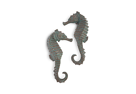 Seahorse Wall Art Set of 2, SM