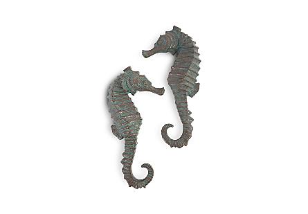 Seahorse Wall Art Set of 2, SM