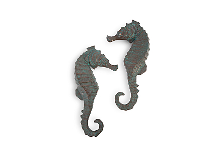 Seahorse Wall Art Set of 2, LG