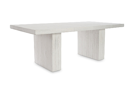 Remnants Dining Table Gel Coat White
