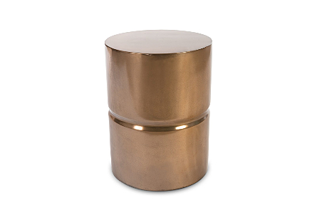 Stacked Stool Bronze