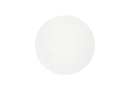 Totem Stool White Gel Coat, LG