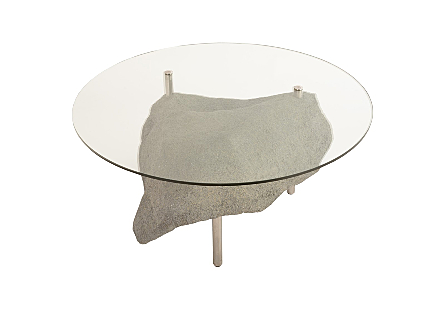 Asteroid Coffee Table Grey Stone, SM
