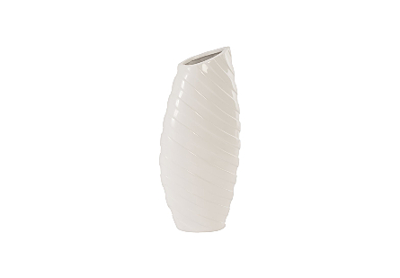 Turbo Vase Gel Coat White