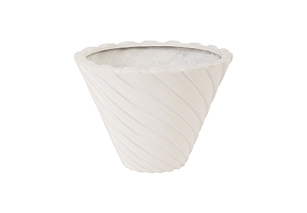 Turbo Planter Gel Coat White