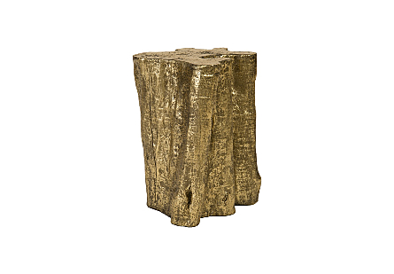 Copse Side Table Gold Leaf