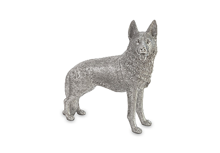 German Shepherd Silver Leaf