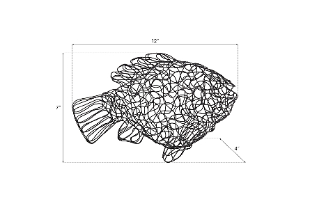 Crazy Wire Tilapia Fish