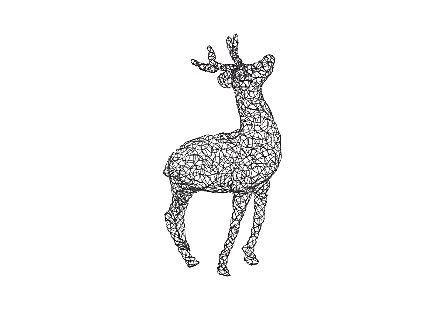 Crazy Wire Deer Buck
