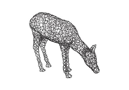 Crazy Wire Deer Doe