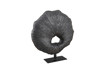Fungia Sculpture Gunmetal