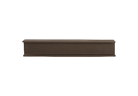I-Beam Wall Shelf Rust