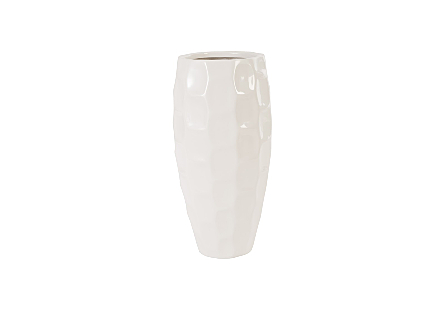 Mando Planter Gel Coat White, SM