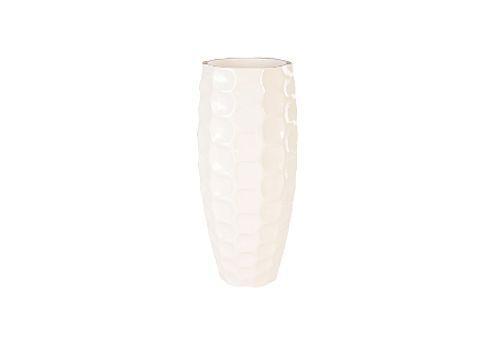 Mando Planter Gel Coat White, LG