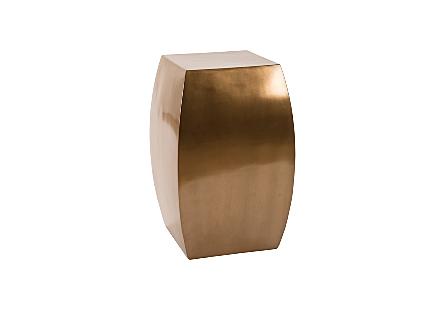 Taba Side Table Polished Bronze