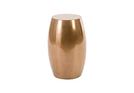 Vex Stool Polished Bronze