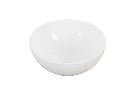 Sulu Bowl Gel Coat White