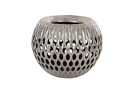 Breathe Planter Aluminum