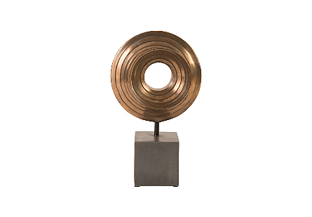 Vibo Table Sculpture Bronze