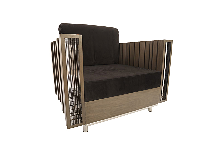 Barcode Club Chair Black Cushion