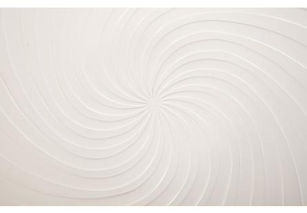 Turbo Dish Wall Art Gel Coat White