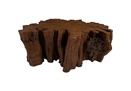 Colossal Root Dining Table Faux Bois