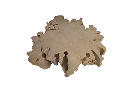 Colossal Root Dining Table Roman Stone