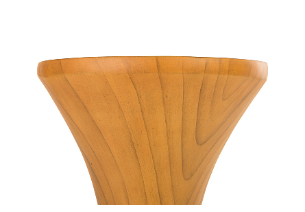 Marley Bar Stool Resin, Faux Bois Finish