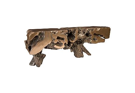 Freeform Console Table,Bronze , XL