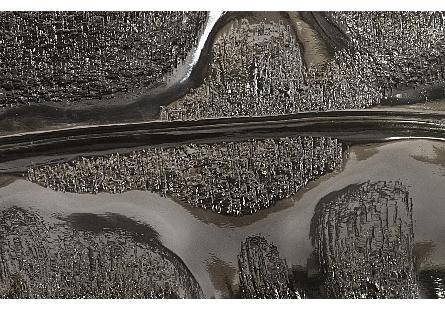Petiole Wall Leaf Liquid Silver, LG, Version B