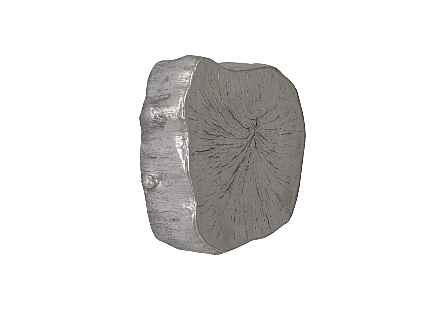 Log Wall Tile Silver Leaf