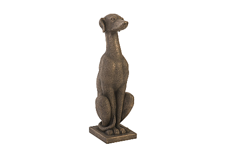 Greyhound Resin, Bronze Finish
