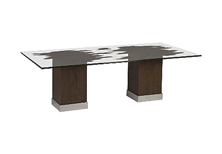 "Floating Slice Dining Table, 96x49x30""h"