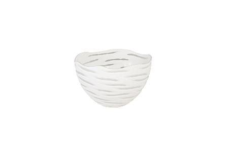 Wavy Glass Bowl LG