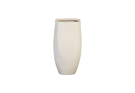 Claire Planter Large, White