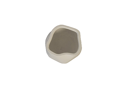Claire Planter White, S