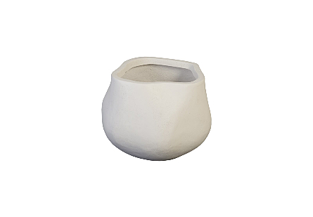 Claire Planter Small, White