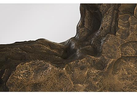 Rock Pond Mirror Bronze