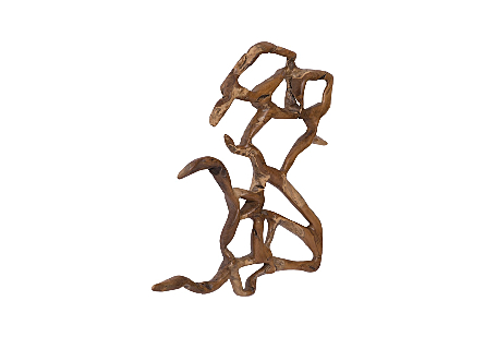 Freeform Root Wall Art Natural