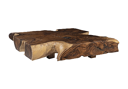 Chamcha Wood Coffee Table Square