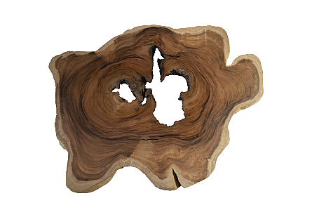 Chamcha Wood Coffee Table Colossal