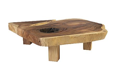 Chamcha Wood Coffee Table Colossal