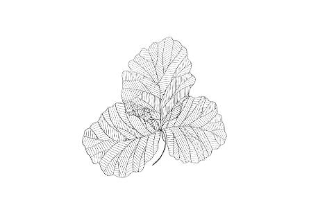 Tri Leaf Silver / Black, SM