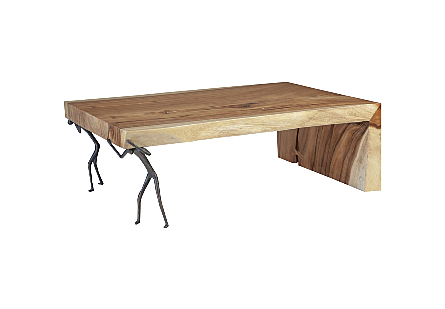 Atlas Coffee Table Chamcha Wood/Metal, Natural