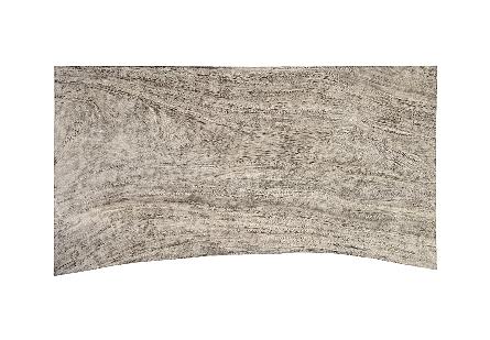 Waterfall Coffee Table Grey Stone