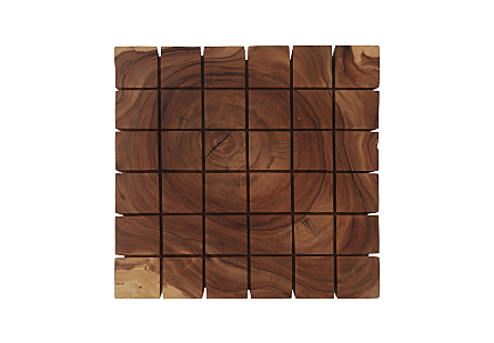 Cubed Coffee Table, Chamcha Wood